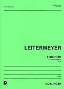 6 Bicinien op. 43 Fritz Leitermeyer Partition laflutedepan.com