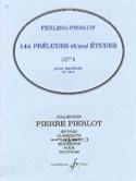 144 Préludes et Etudes Cahier 1 laflutedepan.com