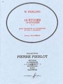 18 Etudes op. 12 W. Ferling Partition Hautbois - laflutedepan.com