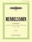 Concerto pour Violon ré mineur Menuhin MENDELSSOHN laflutedepan.com