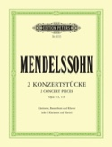 2 Konzertstücke op. 113/114 – Klarinette Bassetthorn Klavier laflutedepan.com
