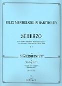 Scherzo op. 61 -Bläserquintett - Stimmen MENDELSSOHN laflutedepan.com