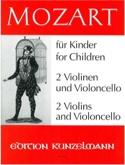 Mozart für Kinder (A. Opern) - 2 Vl/Vc laflutedepan.com