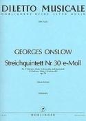 Streichquintett Nr. 30 e-moll op. 74 -Stimmen laflutedepan.com
