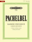 Kanon und Gigue -Trois violons et basse continue laflutedepan.com