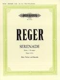 Serenade G-Dur op. 141a –Flöte Violine Viola - laflutedepan.com