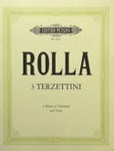 3 Terzettini -2 Flöten Violinen Viola laflutedepan.com