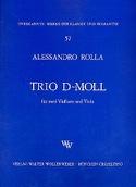 Trio d-moll -2 Violinen u. Viola - Stimmen laflutedepan.com
