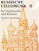 Werner Thomas-Mifune - Russische Cellomusik, Volume 2 - Partition - di-arezzo.fr