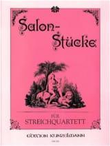 Werner Thomas-Mifune - Salon-Stücke – Streichquartett - Partition - di-arezzo.fr