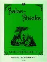 Werner Thomas-Mifune - Salon-Stücke – Bd. 2 – Streichquartett - Stimmen - Partition - di-arezzo.fr