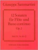 12 Sonaten op. 2 - Heft 4 Nr. 10-12 - Flöte u. Bc laflutedepan.com