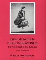 Zigeunerweisen op. 20 - Pablo de Sarasate - laflutedepan.com