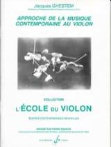 Approche de la musique contemporaine Jacques Ghestem laflutedepan.com
