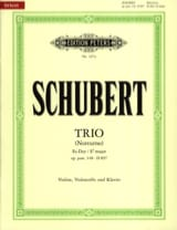 SCHUBERT - Trio Es-Dur Notturno op. post. 148 D. 897 - Sheet Music - di-arezzo.co.uk