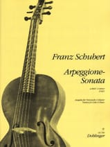 SCHUBERT - Sonate-Arpeggione A-Moll, D. 821 - Sheet Music - di-arezzo.co.uk