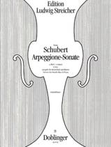 Arpeggione-Sonata a-Moll SCHUBERT Partition laflutedepan.com