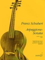 Arpeggione-Sonata a-Moll - Viola Gitarre SCHUBERT laflutedepan.com