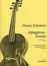 Arpeggione-Sonata A-Moll - Cello Gitarre SCHUBERT laflutedepan.com