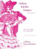 7 Leichte Tangos Werner Thomas-Mifune Partition laflutedepan.com