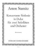 Konzertante Sinfonie D-Dur -2 Flöten Klavier laflutedepan.com