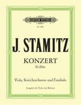 Concerto G-dur – Viola Klavier - Johann Stamitz - laflutedepan.com