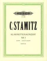 Klarinetten-Konzert Nr. 3 B-Dur - Partitur laflutedepan.com