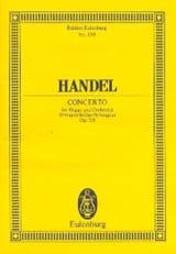 Georg F Haendel - Orgel-Konzert B-Dur, op. 7/1 B-Dur - Partition - di-arezzo.fr