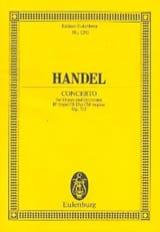 Georg F Haendel - Orgel-Konzert B-Dur, op. 7/3 B-Dur - Partition - di-arezzo.fr