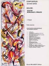 Edvard Grieg - Four Lyric Pieces - Orchestra Sheet Music - Sheet Music - di-arezzo.co.uk