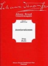 Accelerationen Johann (Fils) Strauss Partition laflutedepan.com