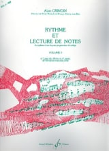 Alain Grimoin - Rhythm and Reading Notes Volume 3 - Sheet Music - di-arezzo.com