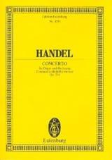 Georg F Haendel - Orgel-Konzert d-moll, op. 7/4 d-moll - Partition - di-arezzo.fr