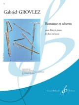 Gabriel Grovlez - Romance and Scherzo - Sheet Music - di-arezzo.com