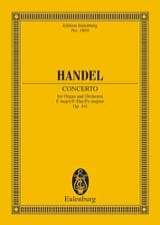 HAENDEL - Concerto for Organ and Orchestra in F Major Op. 4/4 - Sheet Music - di-arezzo.com