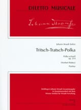 Johann (Fils) Strauss - Tritsch-Tratsch Polka, op. 214 – Partitur - Partition - di-arezzo.fr