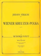 Wiener Kreuzer-Polka op. 220 –Bläserquintett - Partitura + Stimmen - laflutedepan.com