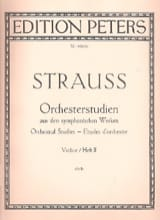 Richard Strauss - Orchesterstudien Violine - Bd. 2 - Partitura - di-arezzo.es