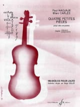 4 Petites pièces - Hadjaje Paul / Carles Marc - laflutedepan.com