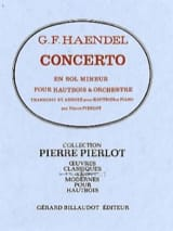 HAENDEL - Oboe Concerto in G minor - Sheet Music - di-arezzo.com