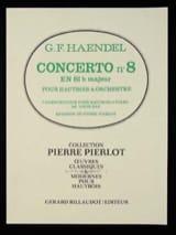 Georg Friedrich Haendel - Concerto Hautbois n° 8 en Sib Majeur - Partition - di-arezzo.fr