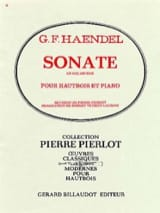 HAENDEL - Sonata in G minor - Sheet Music - di-arezzo.com