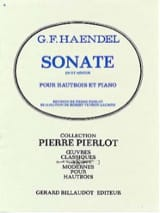 HAENDEL - C minor Sonata for Oboe - Sheet Music - di-arezzo.com