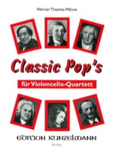 Werner Thomas-Mifune - Classic Pop's - 4 Cellos - Partition - di-arezzo.fr
