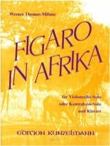 Figaro in Afrika Werner Thomas-Mifune Partition laflutedepan.com