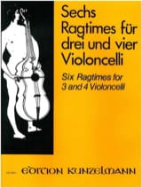 6 Ragtimes - Werner Thomas-Mifune - Partition - laflutedepan.com