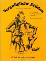 Werner Thomas-Mifune - Vergnügliche Etüden - 3 Cellos o. Violine Viola Cello) - Partition - di-arezzo.fr