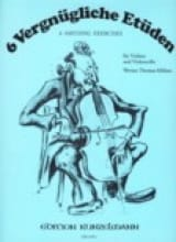 Werner Thomas-Mifune - Vergnügliche Etüden - Sheet Music - di-arezzo.co.uk