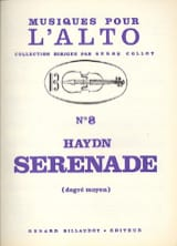 HAYDN - Serenade - Alto - Sheet Music - di-arezzo.co.uk