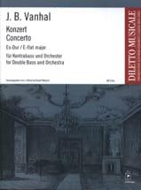 Johann Baptist Vanhal - Konzert Es-Dur - Kontrabass - Partition - di-arezzo.fr